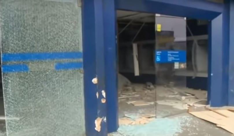 Quadrilha explode banco de Timon e troca tiros com a polícia