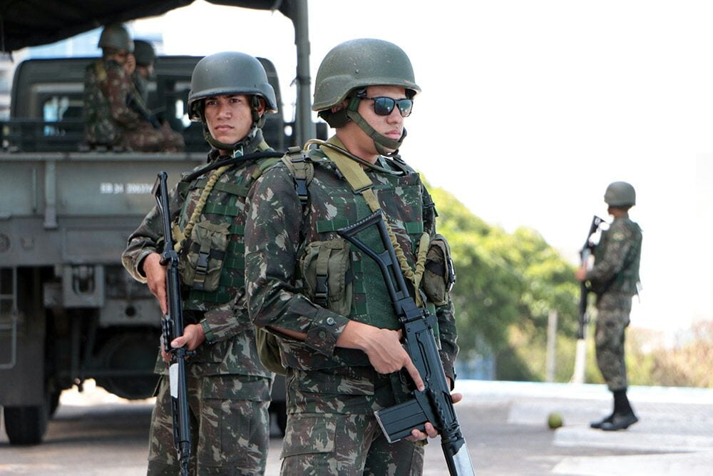 Forças Federais chegam em São Luís para segurança das Eleições 2018