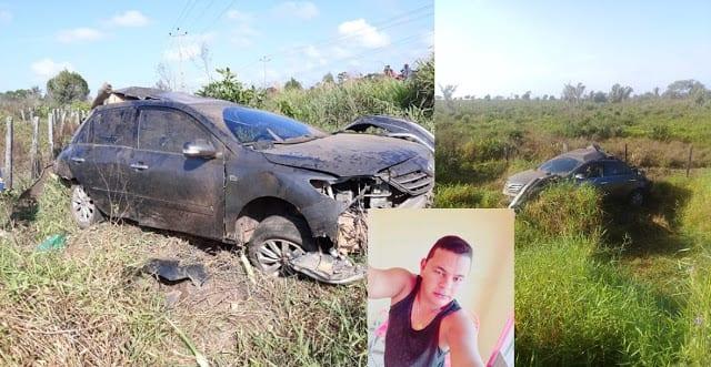 Acidente fatal é registrado na MA 106 em Governador Nunes Freire
