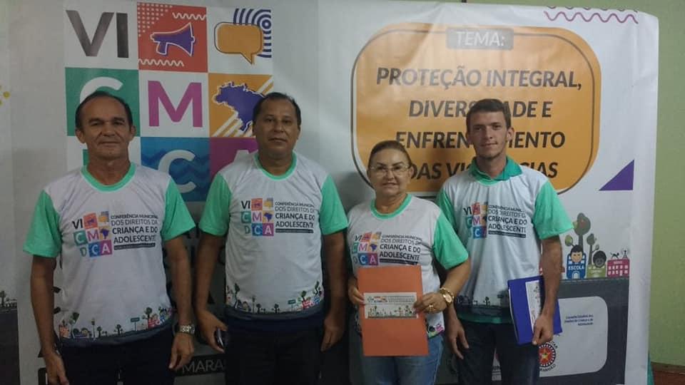 Realizada a VI Conferência Municipal dos Direitos da Criança e do Adolescente no Município de Nova Olinda do Maranhão