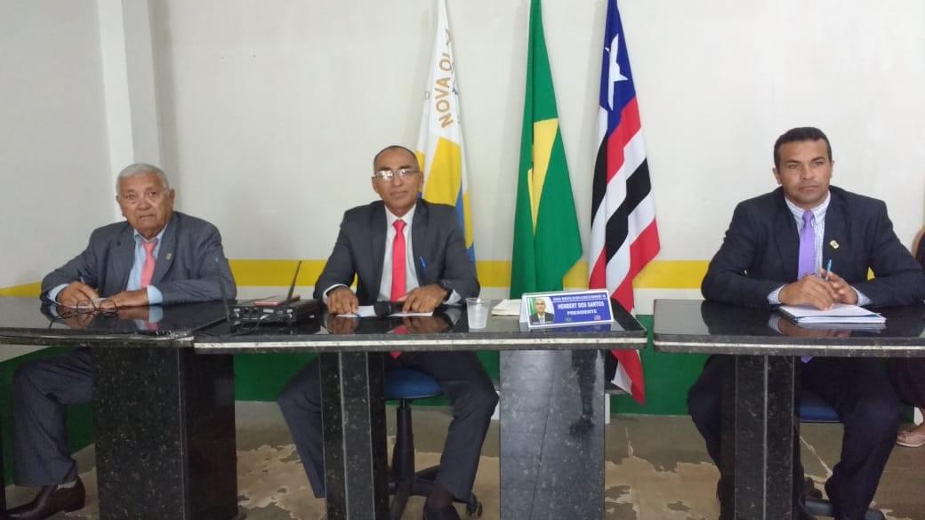 Empossada nova mesa diretora da Câmara Municipal de Nova Olinda do Maranhão