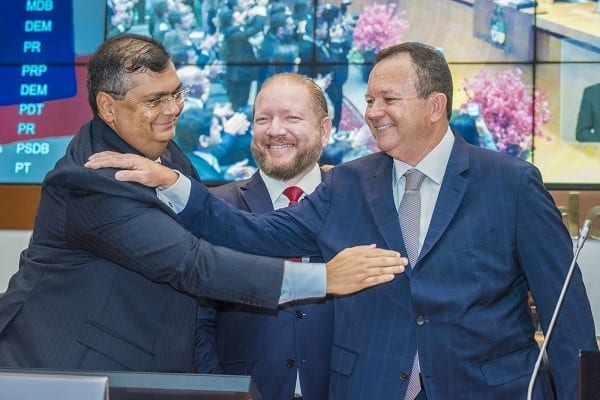 Flávio Dino sai de férias e Carlos Brandão assume o Governo do Maranhão