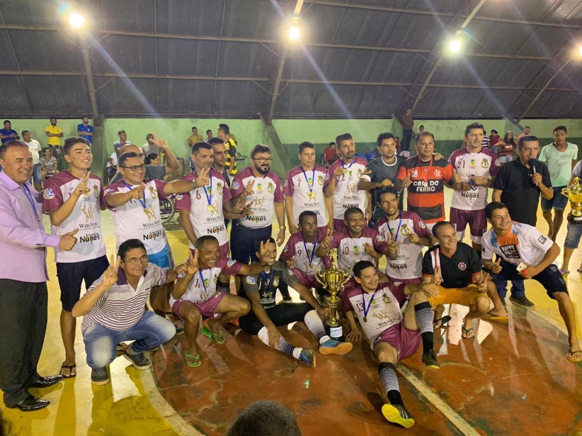Real Matismo conquista Taça Cidade de Futsal Veteranos 2019