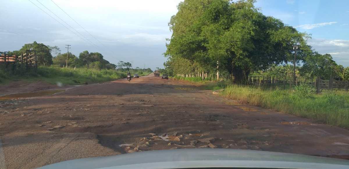 Situação da BR 316 é precária em vários trechos no Maranhão