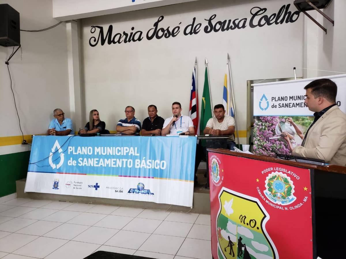 PMSB é apresentado em audiência pública em Nova Olinda do Maranhão