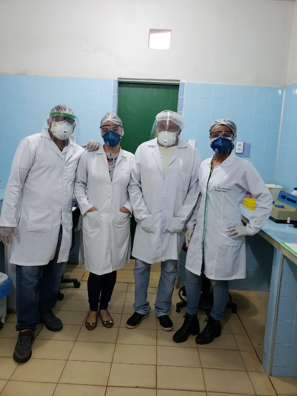 Secretaria de Saúde de Nova Olinda do MA reforça testagem contra a COVID 19