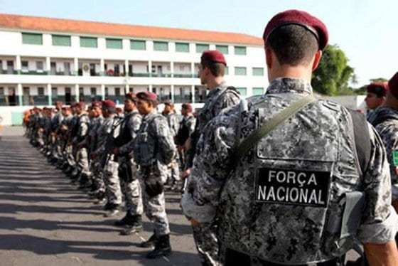 Nova Olinda do Maranhão e mais 97 municípios receberão forças federais nas eleições