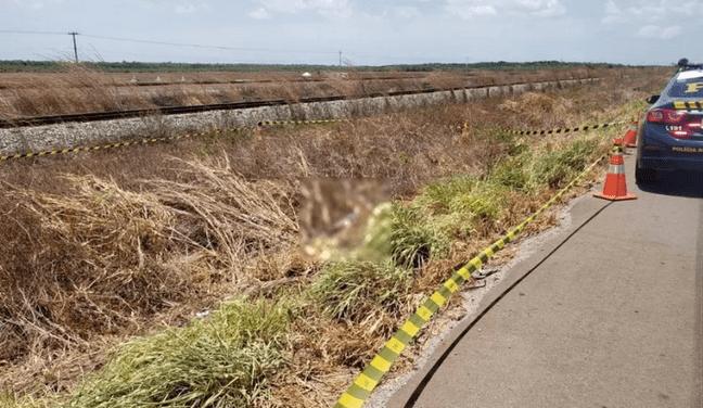 Corpo é encontrado às margens da BR-135 no Maranhão