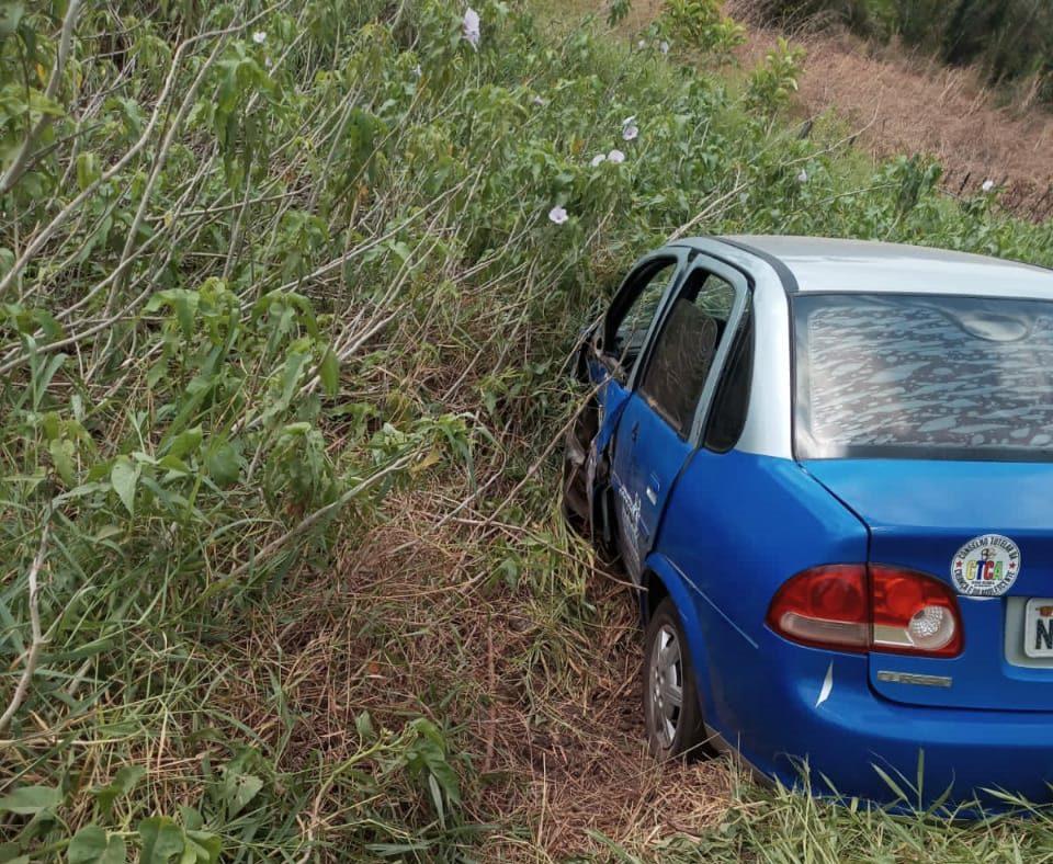 Susto: Veículo do Conselho Tutelar de Nova Olinda do MA se envolve em acidente em Miranda do Norte