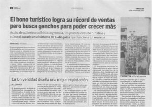 Cicerone en la prensa 2007