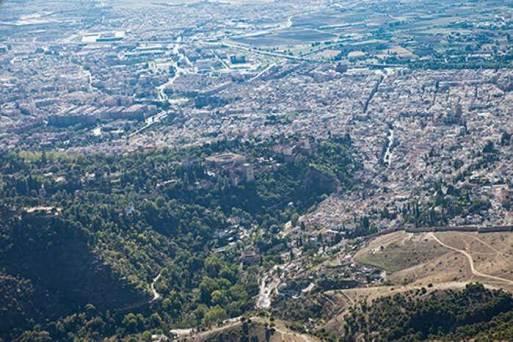 Valle del Darro y Alhambra