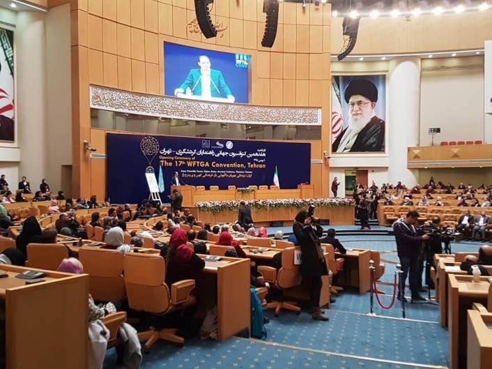 Irán, convención mundial de guías de turismo