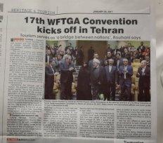 Inauguración de la convención de guías en Irçán