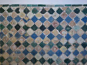 Tilework in San Francisco Convent