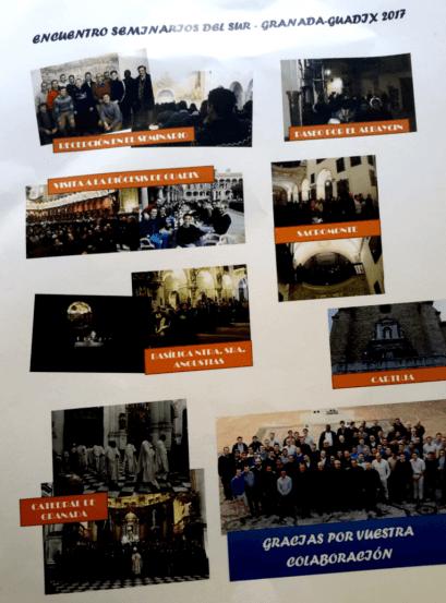 Carta del Seminario mayor de Granada a Cicerone