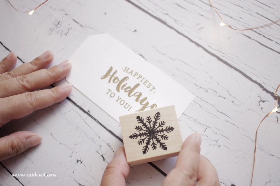 Christmas DIY gift tags