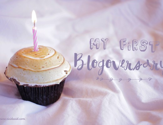 First Blogoversary