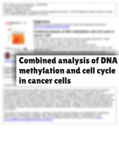 paper-combined analysis of DNA methylation