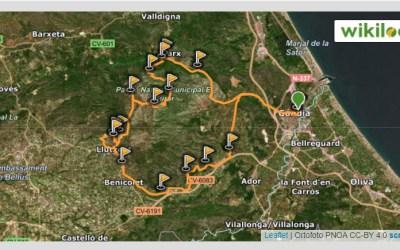 Ruta mountain bike Gandia – Pinet – Rotova