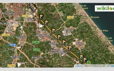 Ruta mountain bike Oliva – Via Verde de La Safor – Gandia