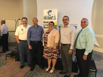 "CICSA Leadership at POCS ""Engaging for Success"" Seminar"