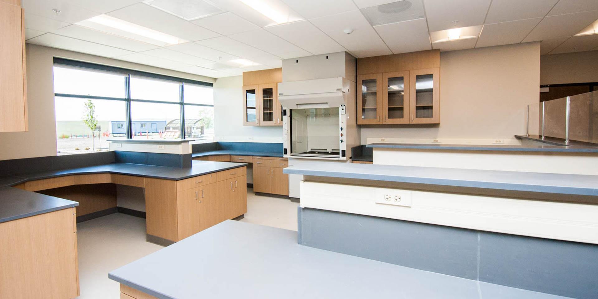 38 Lab area