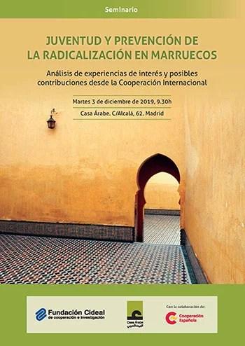 Programa seminario: Juventud y prevención de la ra...́n violenta en Marruecos