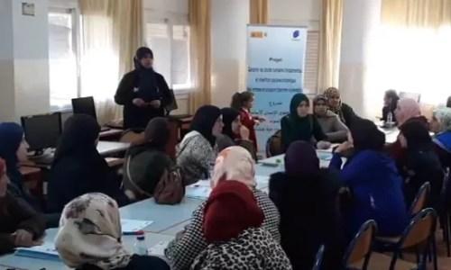 En Tánger, apoyamos la inclusión socio-laboral de más de 500 mujeres en situación de vulnerabilidad