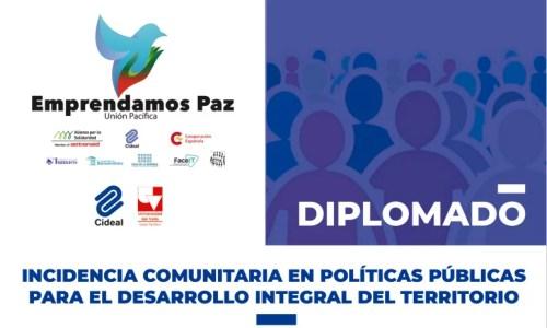 Lanzamos un Diplomado en Colombia sobre incidencia comunitaria en políticas públicas