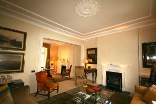 Classic Drawing-room created in Knightsbridge refurbishment