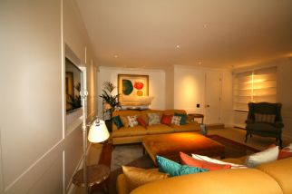 Garden media room Knightsbridge