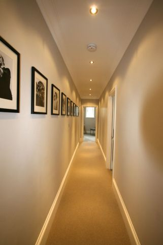 Hallway after refurbishment in Chelsea