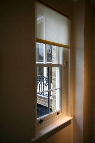 Restored sash window in Chelsea