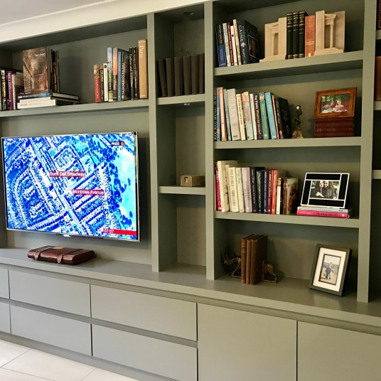 Media Bookcase Unit