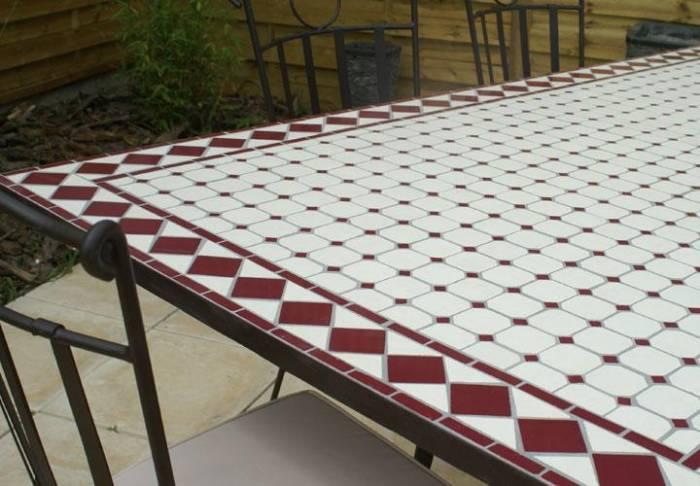 carrelage table de jardin venus et judes
