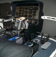 Simulateur d'hélicoptère Bell 206