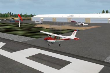 Aérodrome Neuville avec FSX