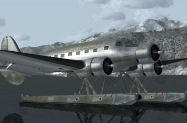 Trimoteur Avia 57 des années 30