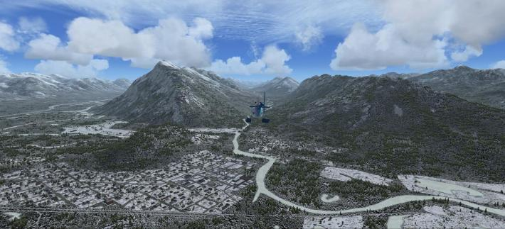 Banff et flight Simulator X