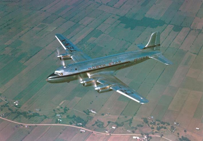 Le Canadair North Star.