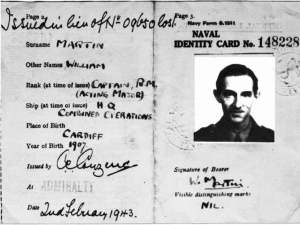 Tarjeta de Identidad de Willi Martin