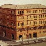 Edificios de apartamentos en la Antigua Roma. No es broma.