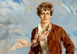 Amelia Earhart. Temeraria, eterna.