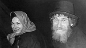 Agafia y Karp Lykov. Mujer familia rusa