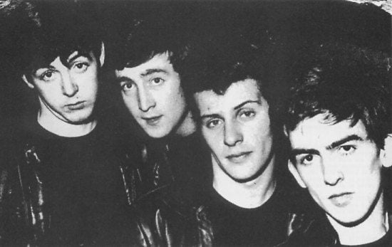 Paul, John, Pete y George