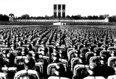 Rally nazi en Nuremberg judíos
