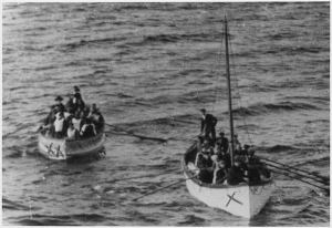 Los esfuerzos del Carpathia, el barco que salvó a los supervivientes del Titanic.
