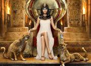 Cleopatra en el trono