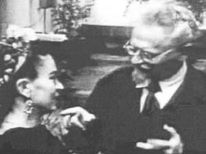 Frida kahlo y Trotsky