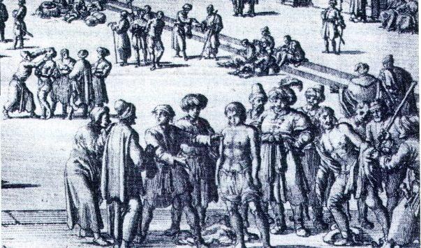 esclavo blanco irlandeses